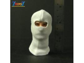 Wild Toys 1/6 Balaclava White 1 hole_ Mask _Now WT008BA