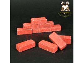 Wild Toys WT27 1/6 Diorama Red Bricks x 10 pcs_ Set _Now WT034A