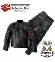 Wild Toys 1/6 Davidson Reflection Skull_ Black Jacket w/ pants Set _motor WT022Z