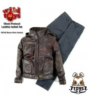 Wild Toys 1/6 Ghost Protocol_ Brown Weathered Jacket Set w/ Grey pants_Now WT019C