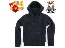 Wild Toys 1/6 Hoodies 2 Navy Blue_ Set _Now WT007D