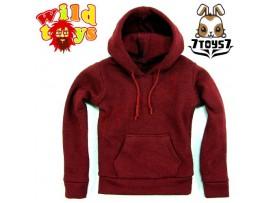 Wild Toys 1/6 Hoodies 2 Crimson Red_ Set _Now WT007E
