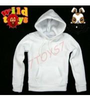 Wild Toys 1/6 Hoodies 2 White_ Set _Now WT007C