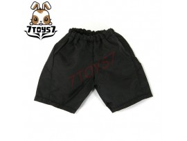 Wild Toys 1/6 Windbreaker_ Black sport Shorts only _Sports pants WT017L