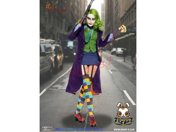 Wolfking 1/6 WK89013A Female Joker 2.0_ Box Set _Now WK012Y