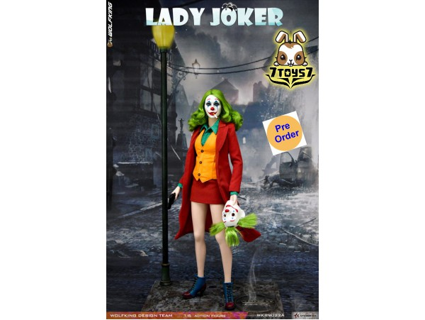 [Pre-order deposit] Wolfking 1/6 WK89022A Female Joker_ Deluxe Box _WB026Y