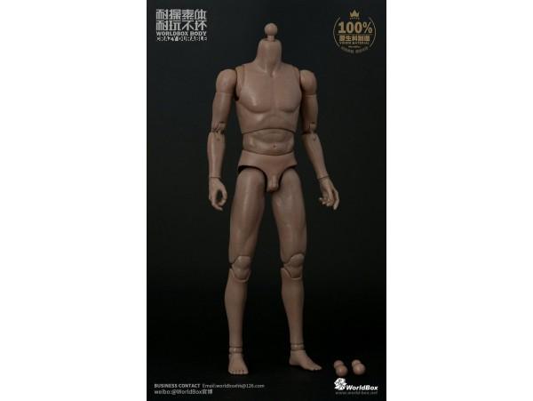 World Box 1/6 AT011 Narrow Shoulders Male_ Body Set 2017 V_Crazy Durable WB014F