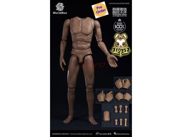 [Pre-order] WorldBox 1/6 AT020 Crazy Durable_ Body Set _WB026Z