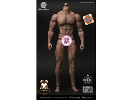 [Pre-order] WorldBox 1/6 AT027 Crazy Durable - Ripped_ Body Set _WB014K