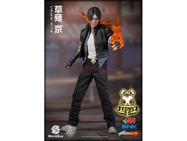 WorldBox 1/6 KF007 KOF Kyo Kusangi_ Box Set _SNK WB022Y