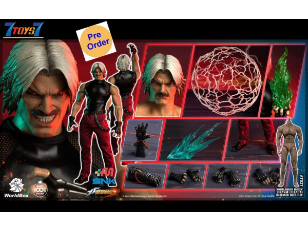 [Pre-order deposit] WorldBox 1/6 KF101 The King Of Fighters - RUGAL_ Deluxe Box Set _WB028A