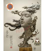 [Pre-order] Yuan xing liang: Four Seasons Fantasy City - Spring Mang Taohua Island_ Statue _YXL001Z