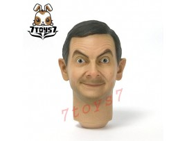 ZCWO 1/6 Mr Bean Deluxe_ Head #1 _Rowan Atkinson ZC World Now ZC040F