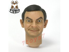 ZCWO 1/6 Mr Bean Deluxe_ Head #3 _Rowan Atkinson ZC World Now ZC040H