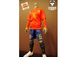 [Pre-order] ZCWO 1/6 National Team Jersey - Spain_ Suit Set _ZC057Z