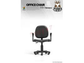 [Pre-order] ZCWO 1/6 Office Chair_ Black_ Workplace ZC052D