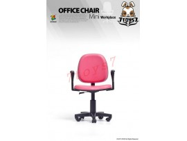 [Pre-order] ZCWO 1/6 Office Chair_ Pink _Workplace ZC052B