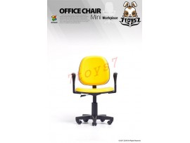 ZCWO 1/6 Office Chair_ Yellow _Workplace Now ZC052C
