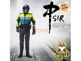 [Pre-order] ZCWO 1/6 Police Force Escort Group - Middle Sir_ Box Set _ZC059Z