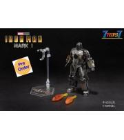 [Pre-order deposit] ZD Toys 1/10 Marvel Iron Man: Mark I MK 1_ Box Set _ZT016Z