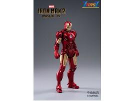 ZD Toys 1/10 Marvel Iron Man 2: Mark IV MK 4_ Box Set _ZT004Z