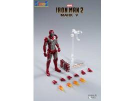 ZD Toys 1/10 Marvel Iron Man 2: Mark V MK 5_ Box Set _ZT011Z