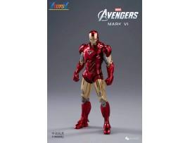ZD Toys 1/10 Marvel Avengers Iron Man: Mark VI MK 6_ Box Set _ZT012Z