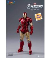 [Pre-order deposit] ZD Toys 1/10 Marvel Avengers Iron Man: Mark VI MK 6_ Box Set _ZT012Z