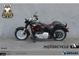 Zytoys 1/6 ZY15-26A Black Motorcycle_ Box _Now ZY016C