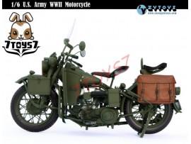 Zytoys 1/6 U.S. Army WWII Motorcycle_ Box _Captain America Die-cast Now ZY015Z