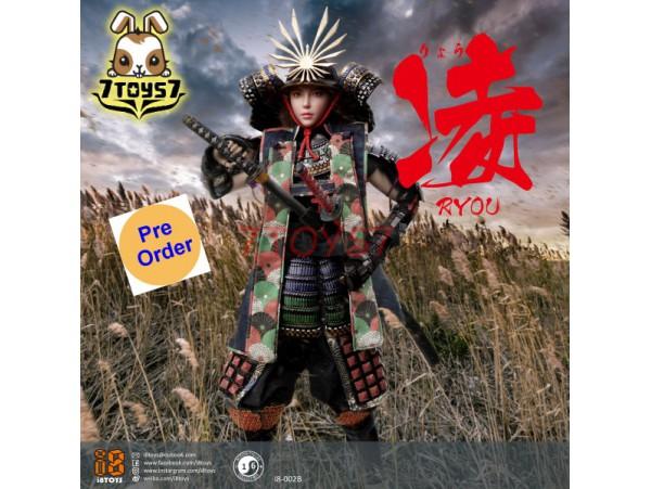 [Pre-order] i8toys 1/6 I8-002B Female Samurai - Ryou_ Black armor version Box Set _ZZ159D