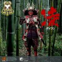 i8Toys 1/6 I8-002A Female Samurai - Ryou_ Red armor version Box Set _ZZ159C