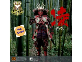 [Pre-order] i8toys 1/6 I8-002A Female Samurai - Ryou_ Red armor version Box Set _ZZ159C