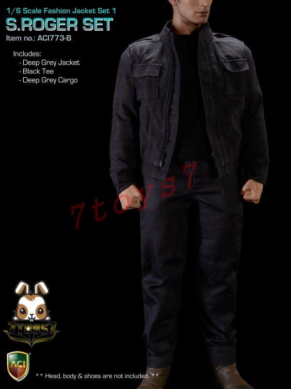 ACI Toys 1//6 Men in Suit 01/_ Black Blazer Only/_ Formal Suit  ATX03D